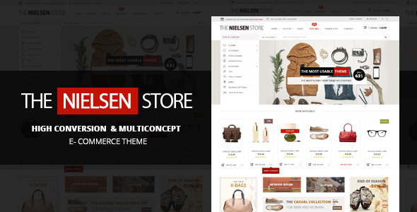 Nielsen – The ultimate e-commerce theme