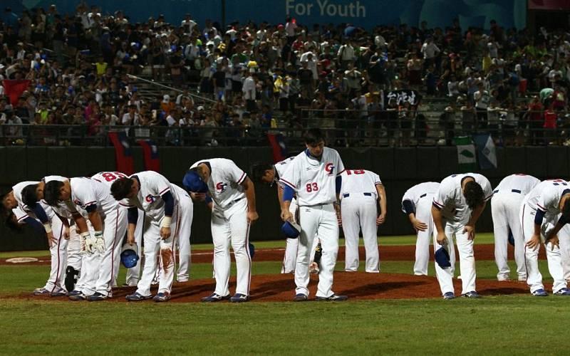 世大運棒球賽中華隊已盡全力,你們辛苦了!